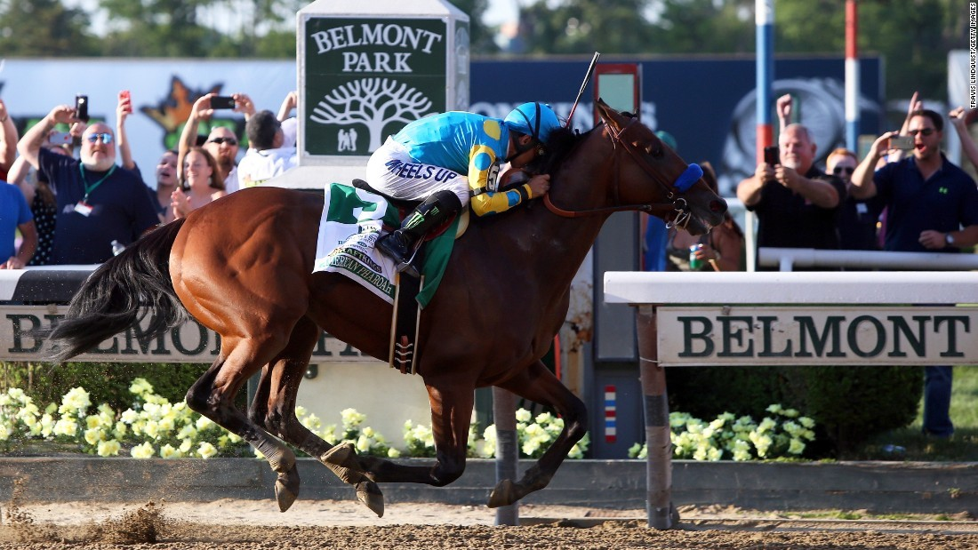 American Pharaoh Wins Kentucky Derby Doesn't Wear Blinders